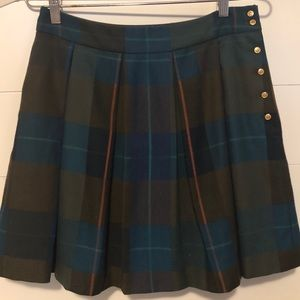 Tommy Hilfiger Short Pleated Skirt